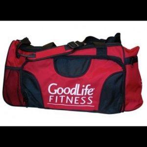 Handbags - Brand new Goodlife Fitness duffel bag